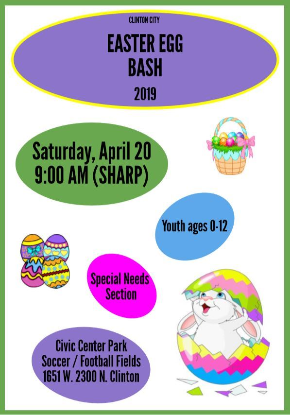 Easter Egg Bash 2019