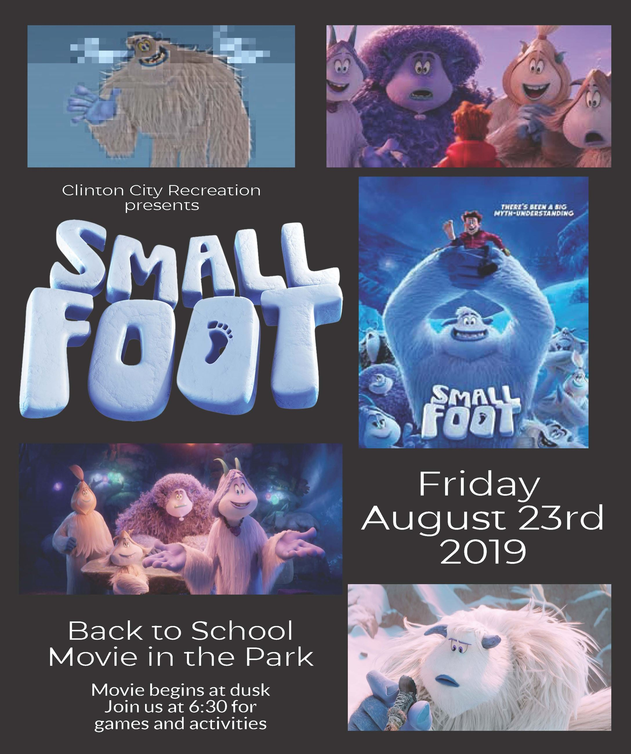 2019 Back to school Movie - Small foot
